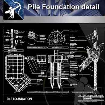 Pile Foundation detail