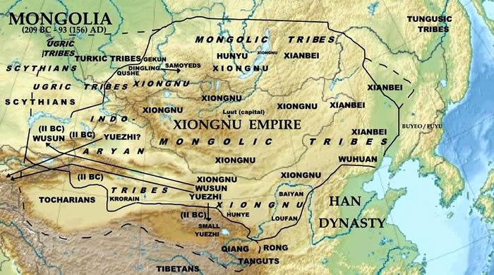 EmpiresKingdoms Of The World Xiongnu Empire