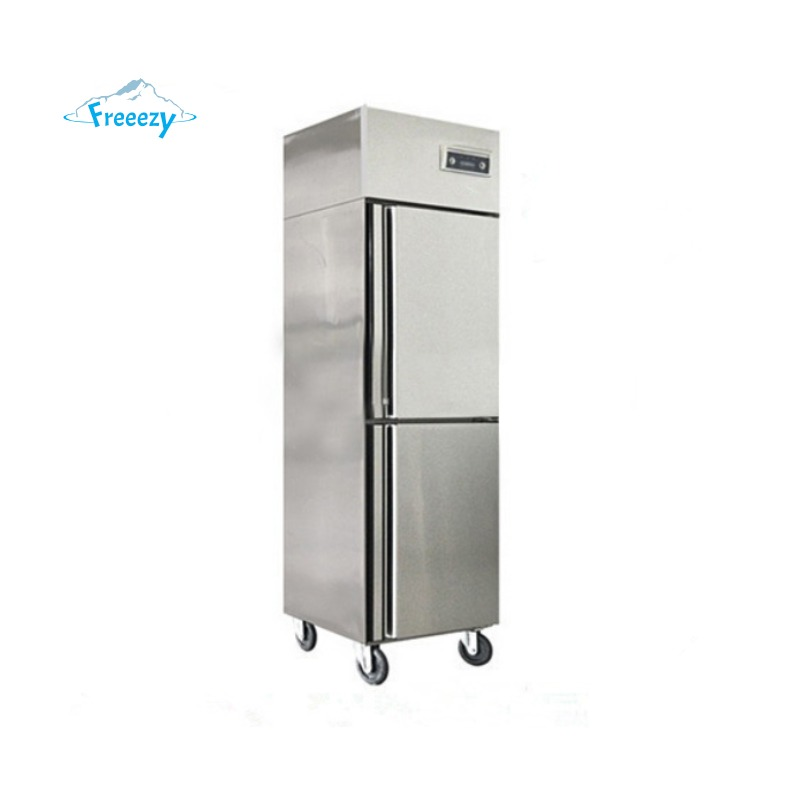 Der Freeezy Kühlschrank mit 2 Türen für die Gastronomie