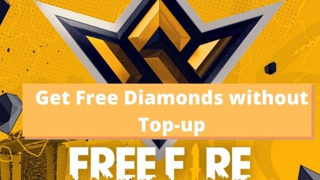 Free Diamonds in Free Fire