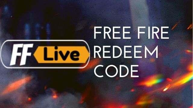 Garena Free Fire Redeem Code Today