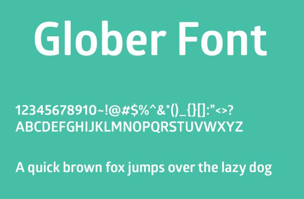 Glober Font Free Download