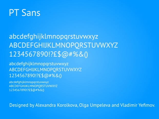 PT Sans Font Family Free Download - Free Fonts