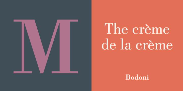 Bodoni Font Free Download - Free Fonts