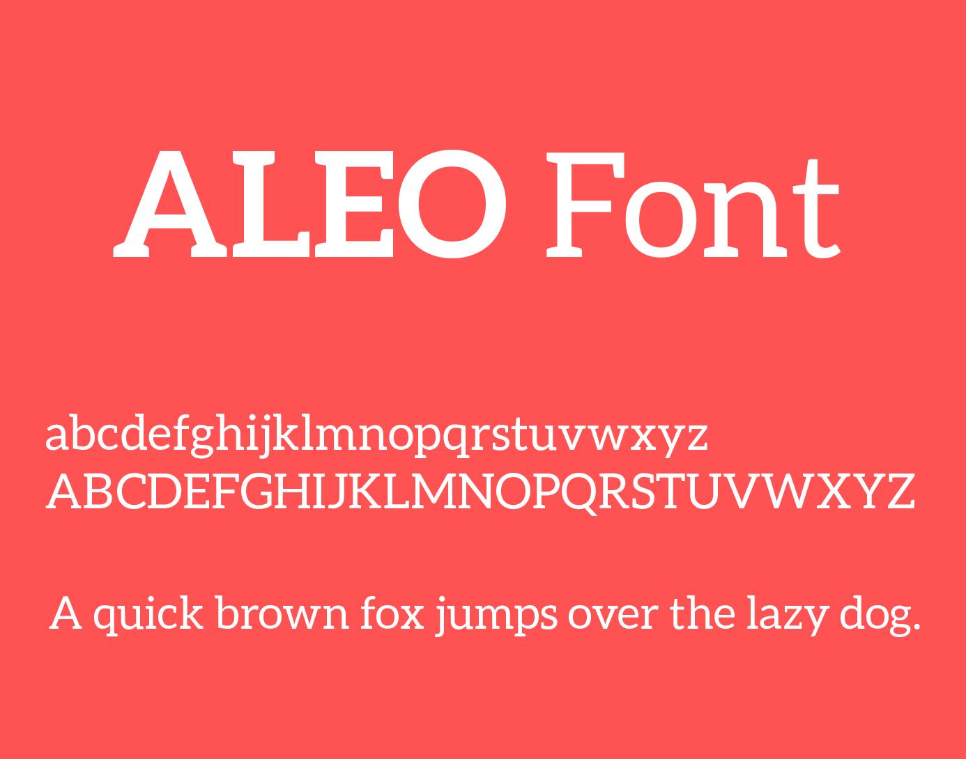 aleo-font