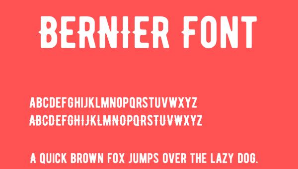 Bernier Font Free Download
