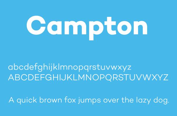 Campton Font Free Download