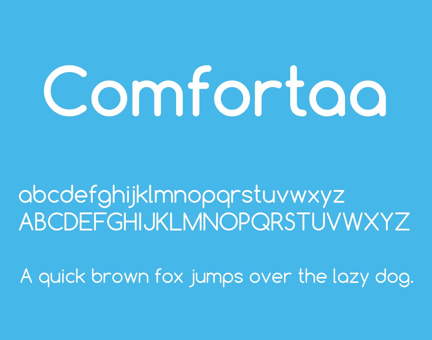 Comfortaa Font Free Download - Free Fonts