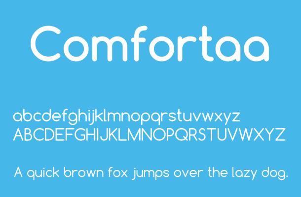 Comfortaa Font Free Download