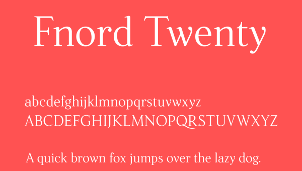 Fnord Font Free Download