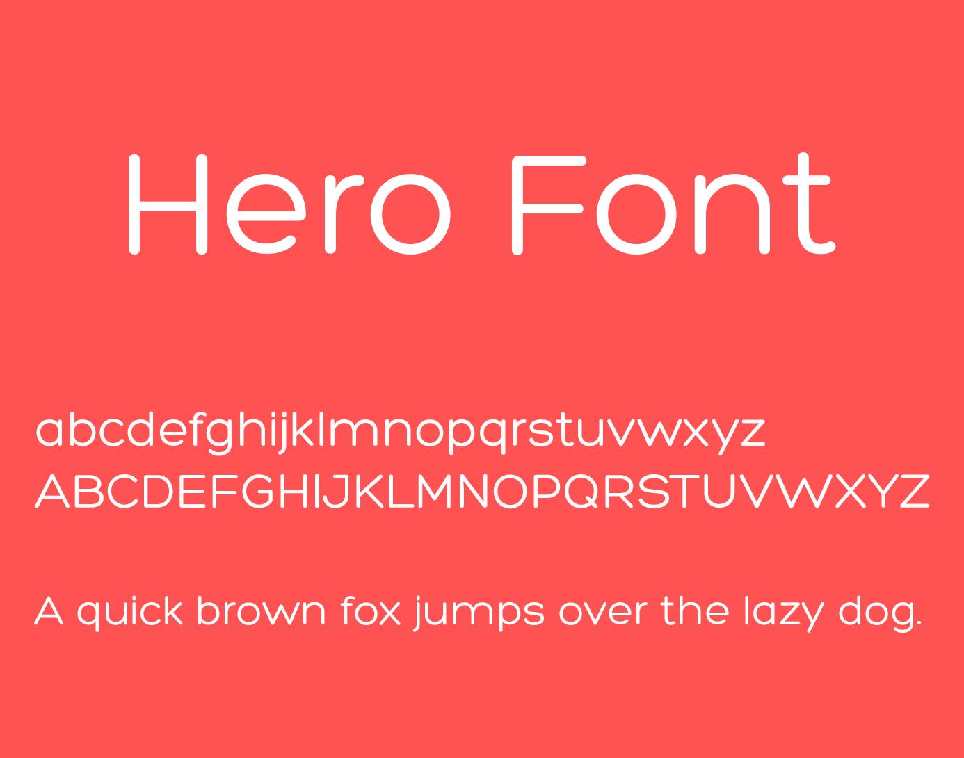 hero-font