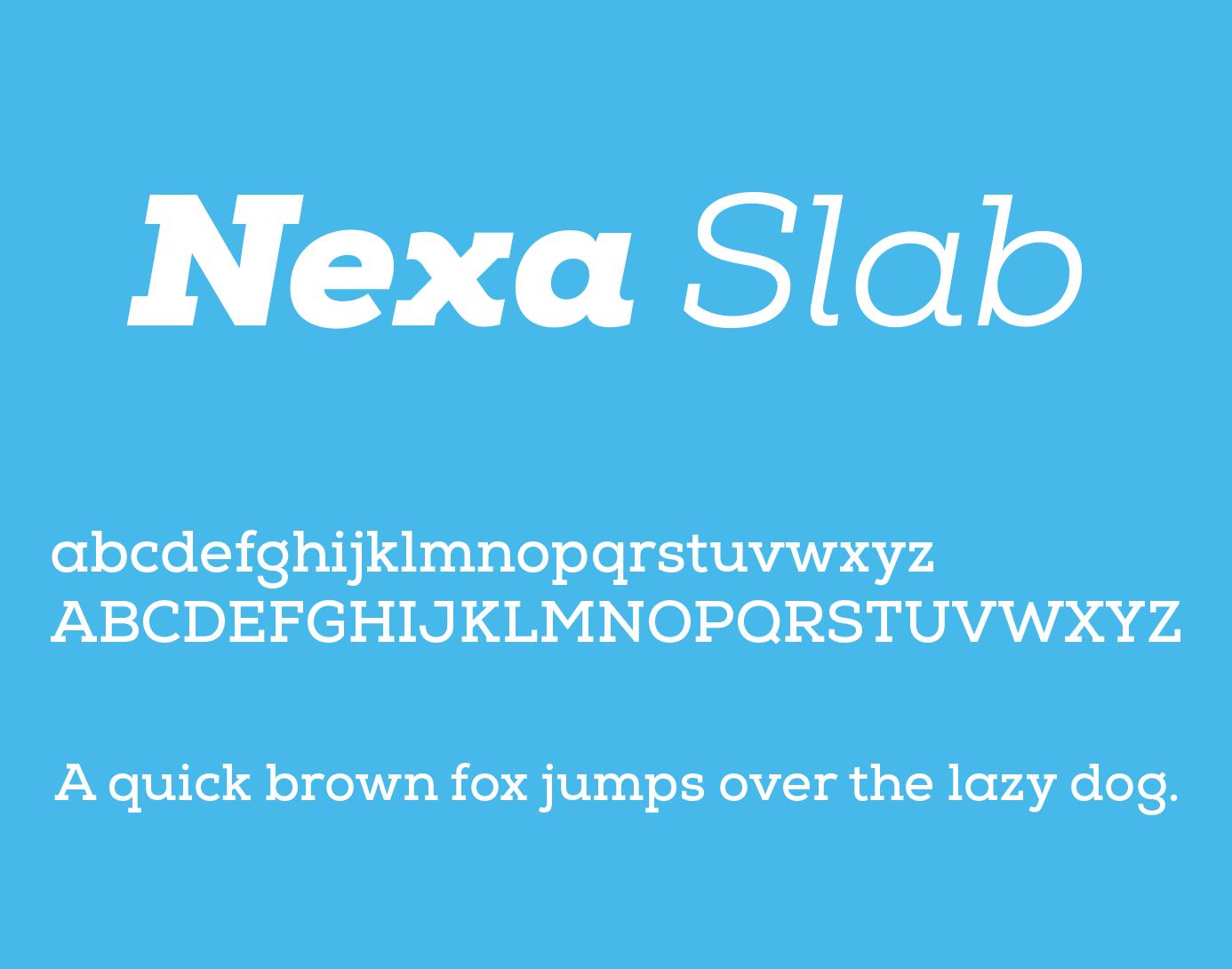 nexa-slab-font