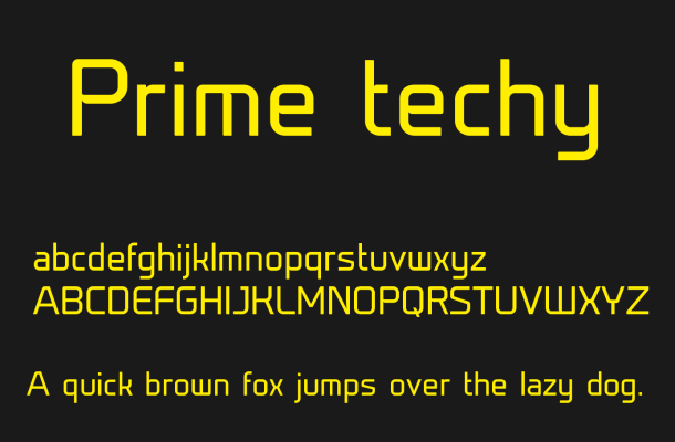 Prime Font Free Download