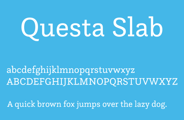 Questa Slab Font Free Download