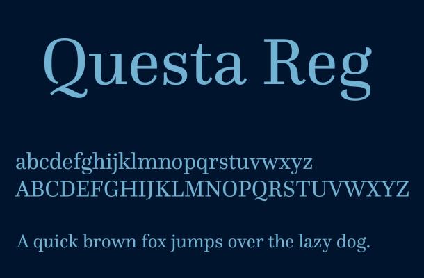 Questa Font Free Download