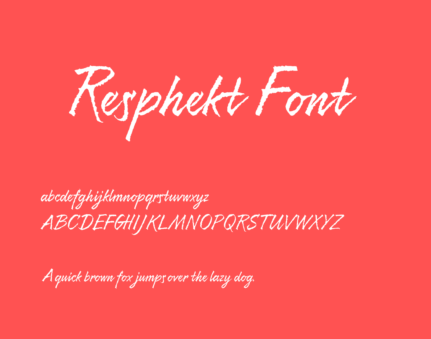 resphekt-font