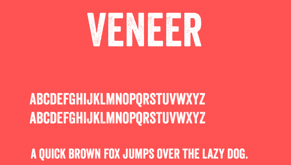 Veneer Font Free Download