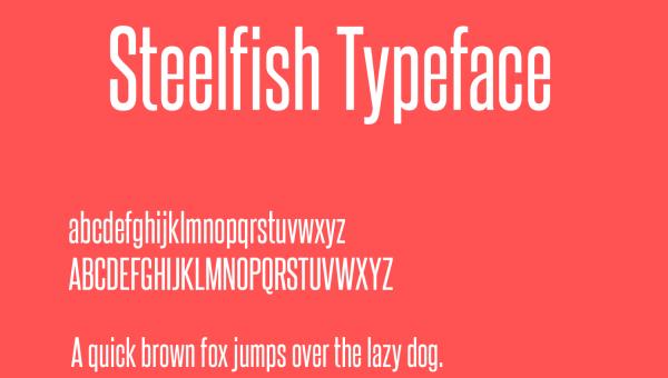 Steelfish Font Free Download