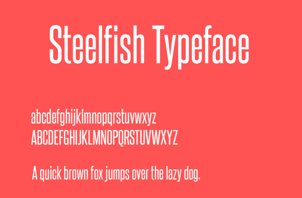 Steelfish Font Free Download