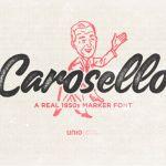 Carosello Font Free
