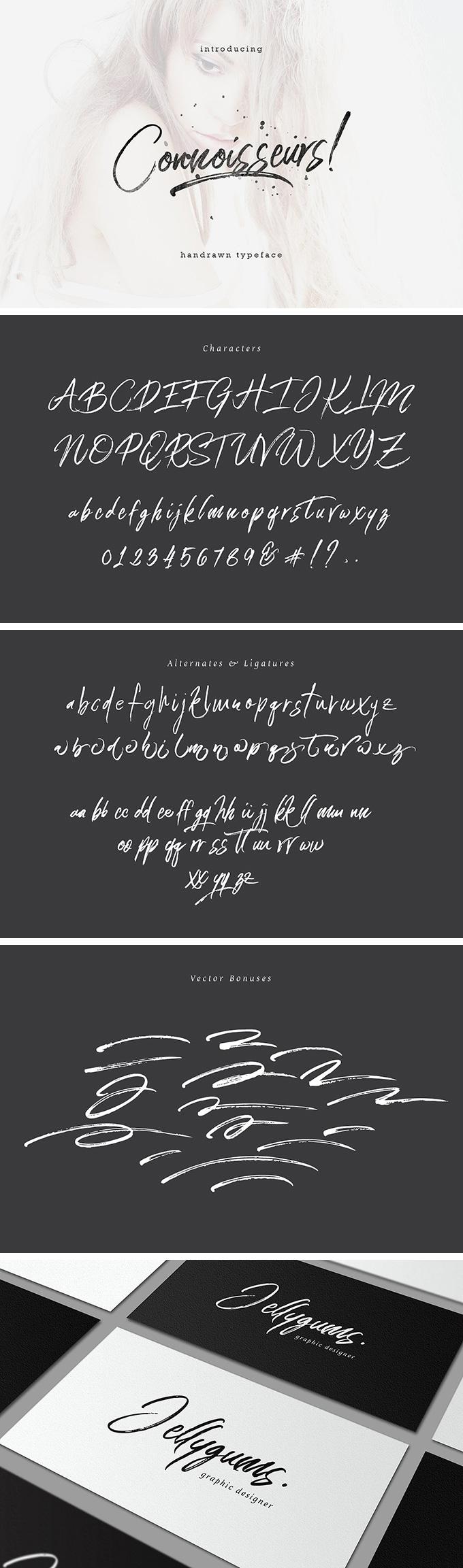 Connoisseurs Typeface font