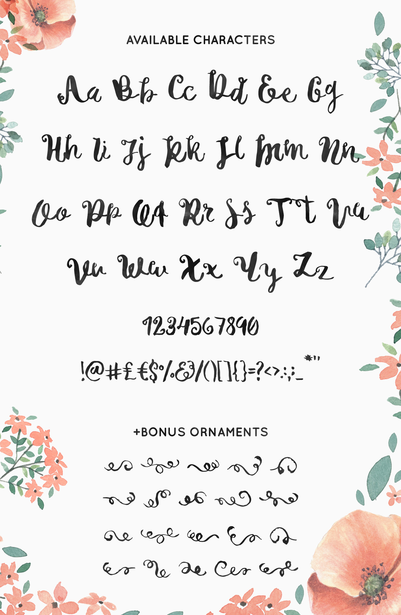 michelle free script font 5
