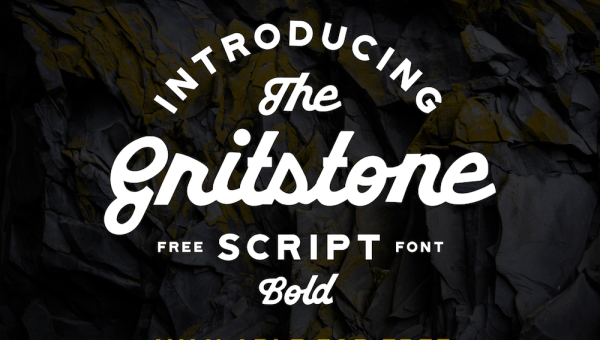 Gritstone Script Bold Font Free