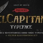 El Capitan: Free Handwritten Font