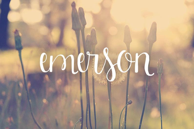 Emerson-script