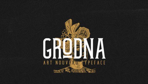 Grodna Typeface Free Download