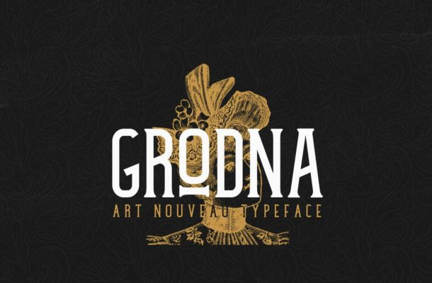 Grodna Typeface Free Download
