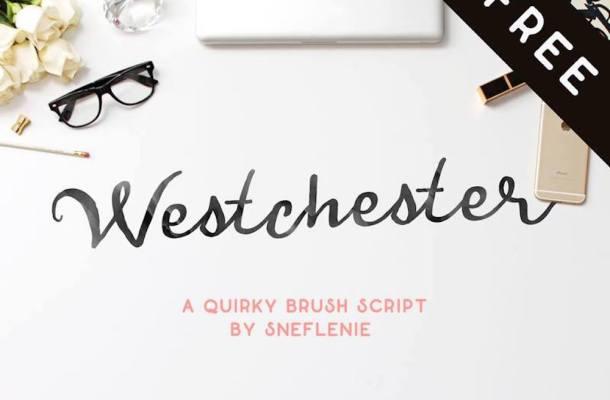 Westchester – Free Brush Script