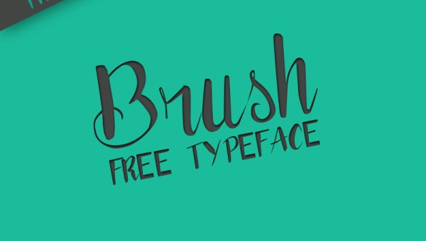 Brush Typography Free