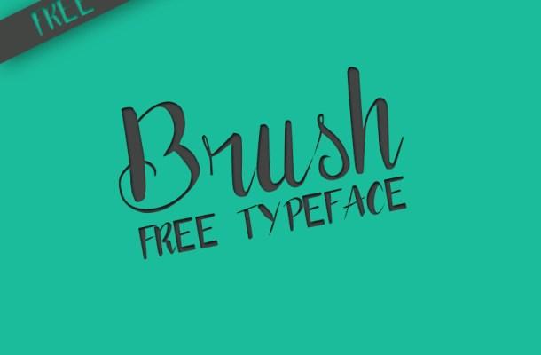 Brush Typography Free