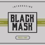 Black Mask – Free Vintage Font