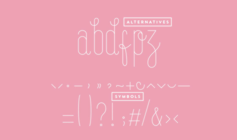 Arcadia Typeface5