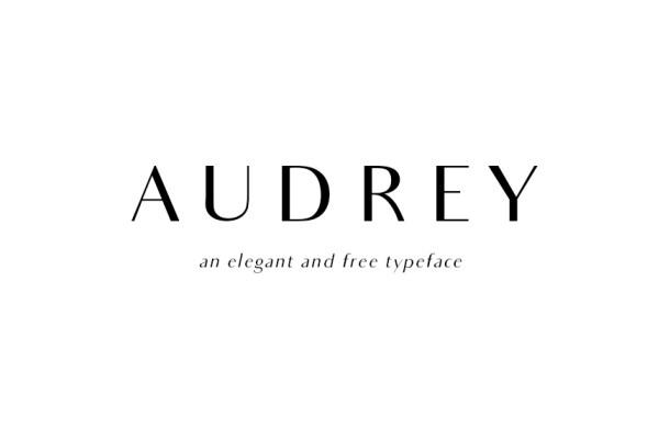 Audrey Font Family