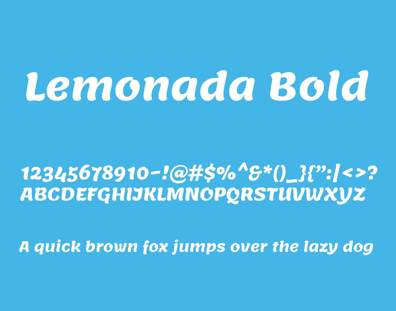 lemonada bold