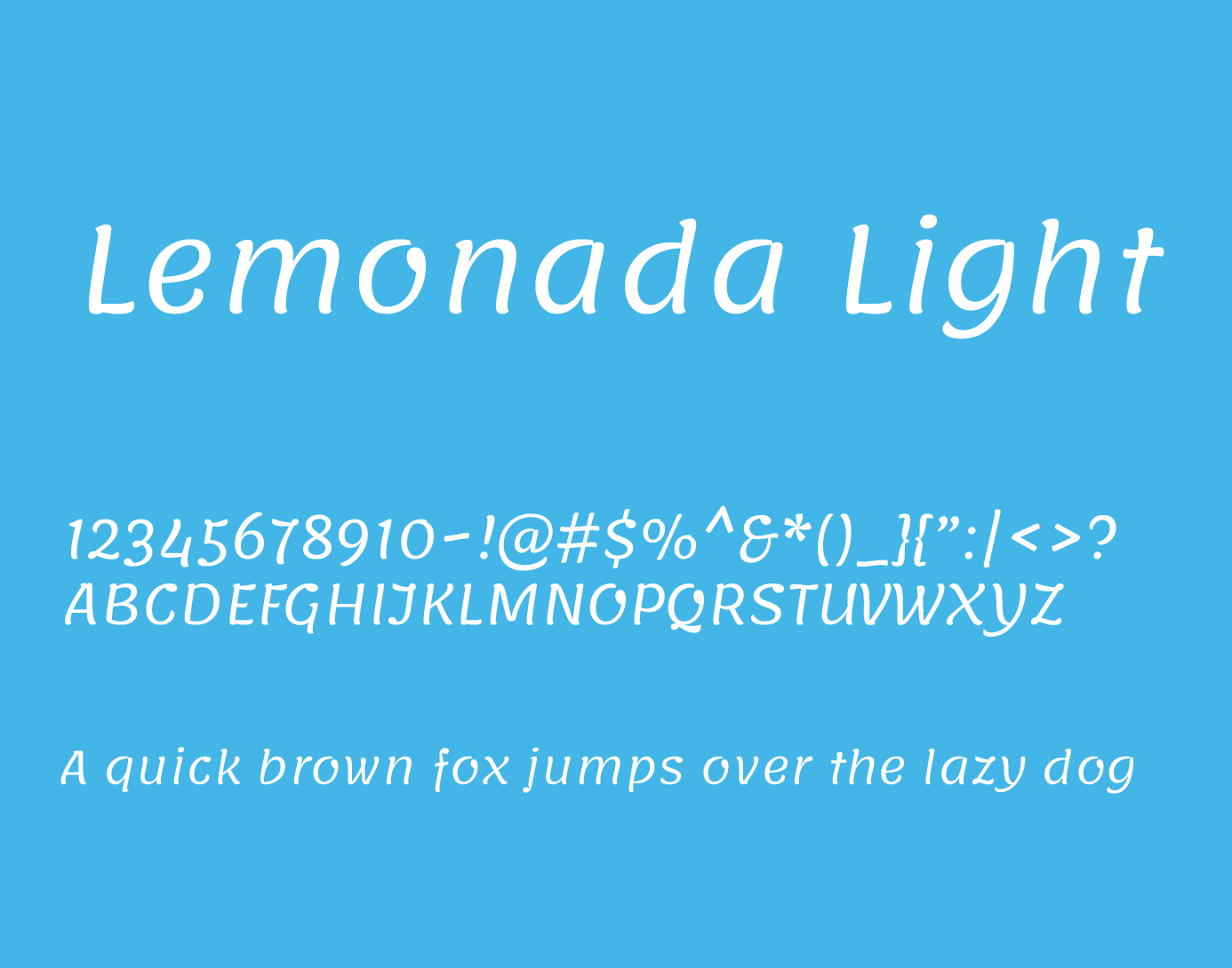 Lemonada Font Family - Free Fonts