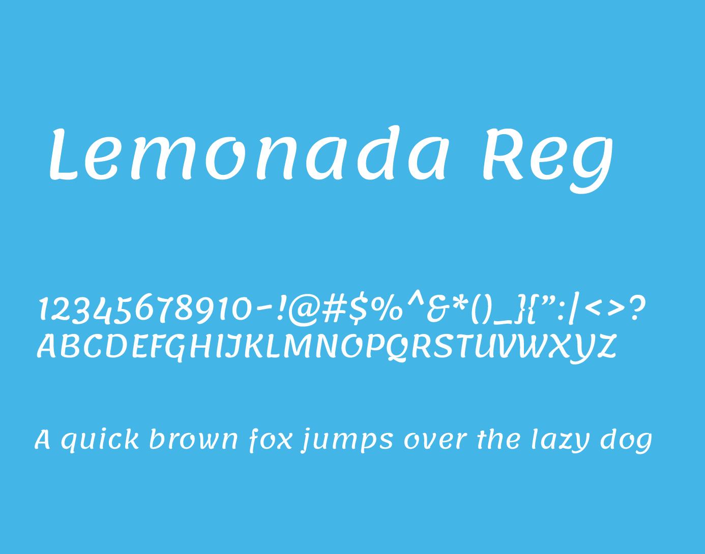 lemonada regular