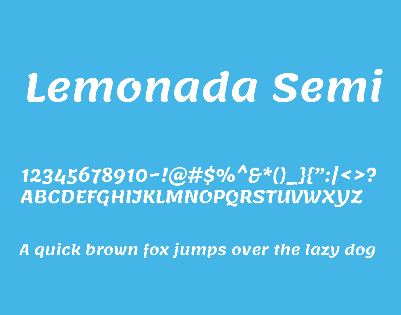 lemonada semi bold