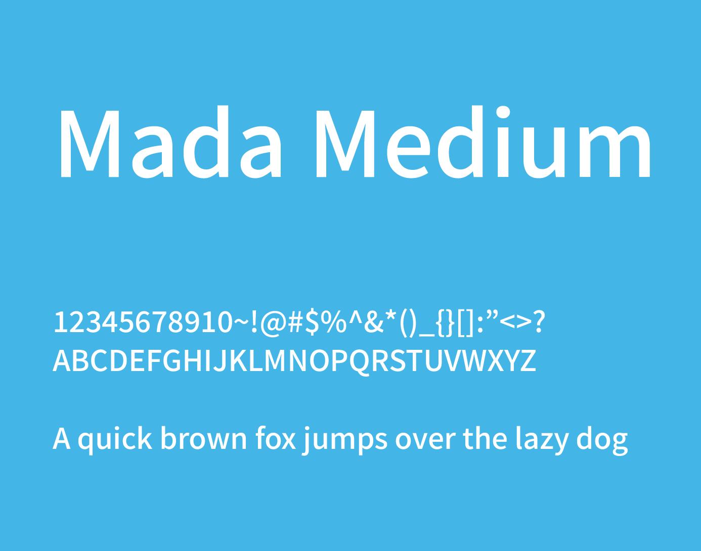 mada medium