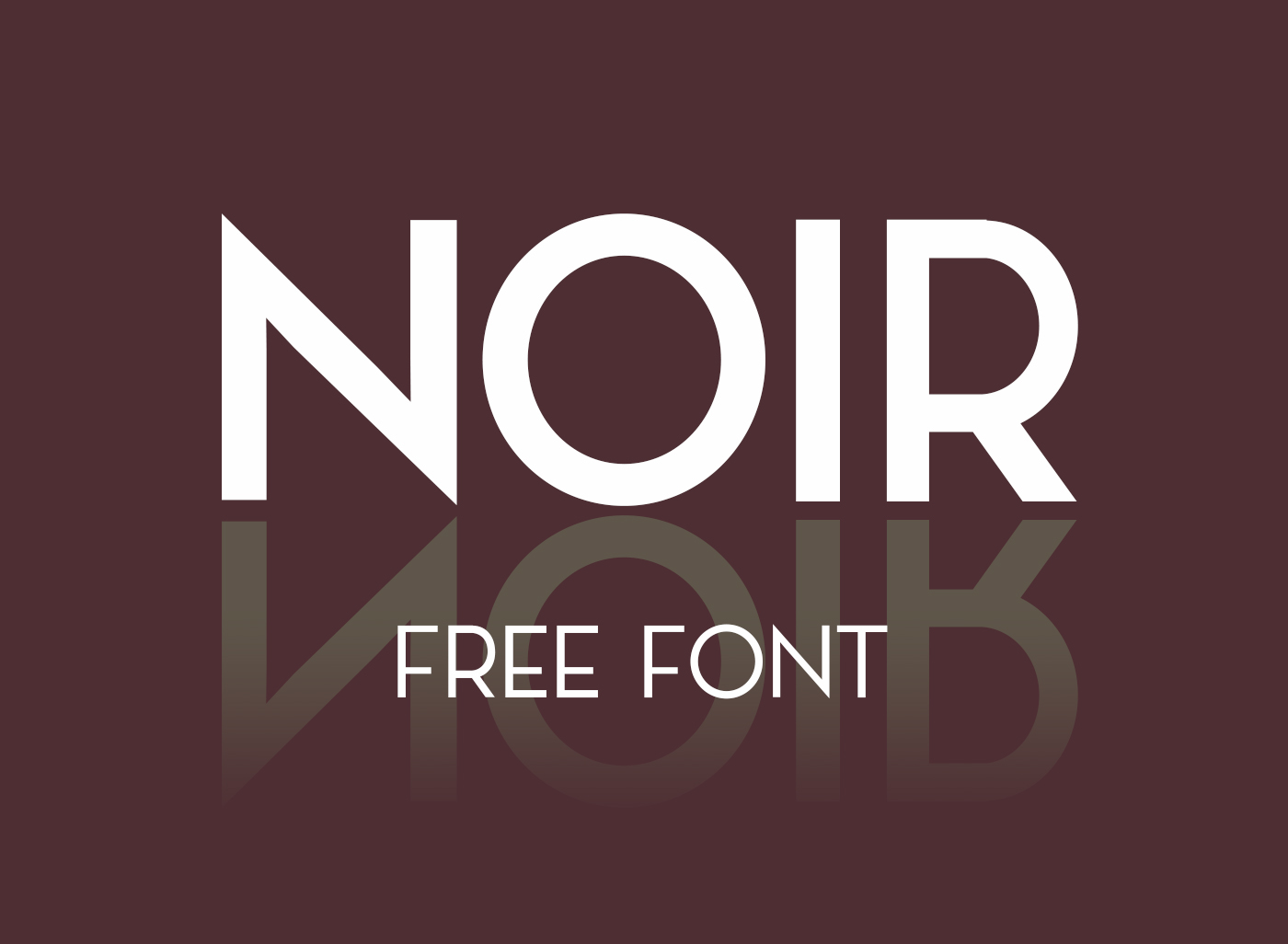 Noir Free Typeface Free Fonts