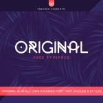 Original Free Typeface