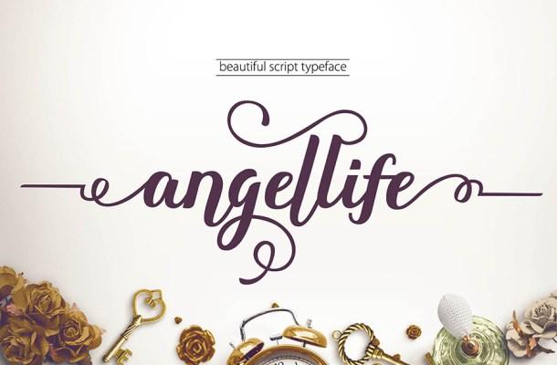 Angellife Free Script Font