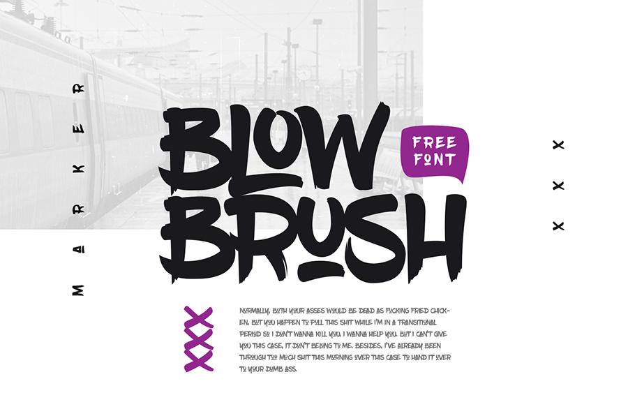 01_blowbrush_free-font