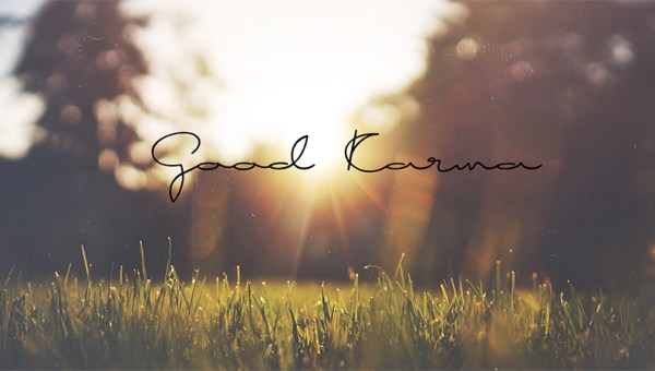 Good Karma Free Handwritten Font