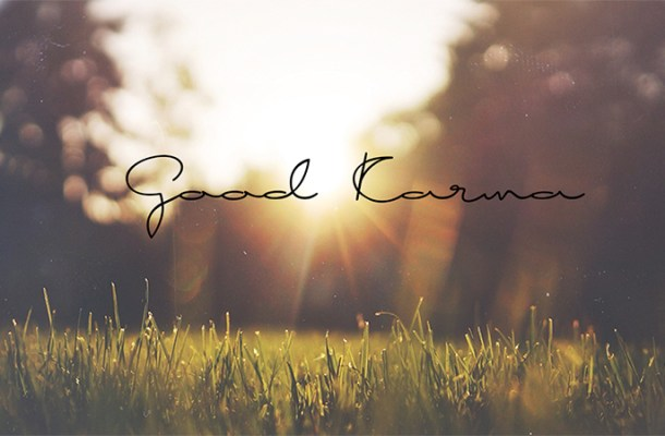 Good Karma Free Handwritten Font