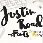 Justin Road Free Font