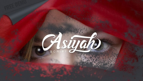 Asiyah Script Font Free
